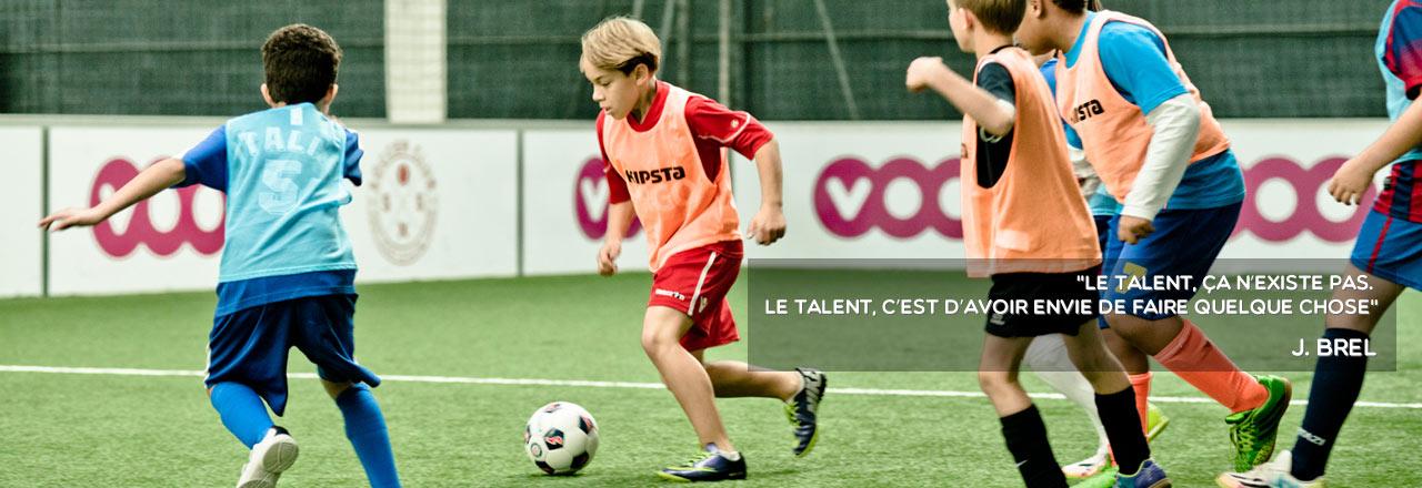 Le talent, ça n'existe pas. Le talent, c'est d'avoir envie de faire quelque chose